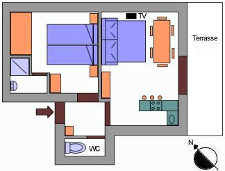 Appartement l'Eychauda